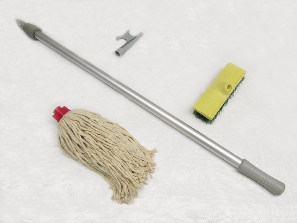 Boat Maintenance Kit With Hook Mop Amp Brush Extension